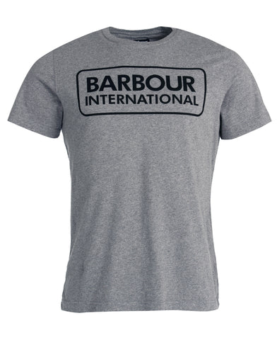 Barbour International LARGE LOGO T-SHIRT Grey MTS0369GY72 - 7clothing