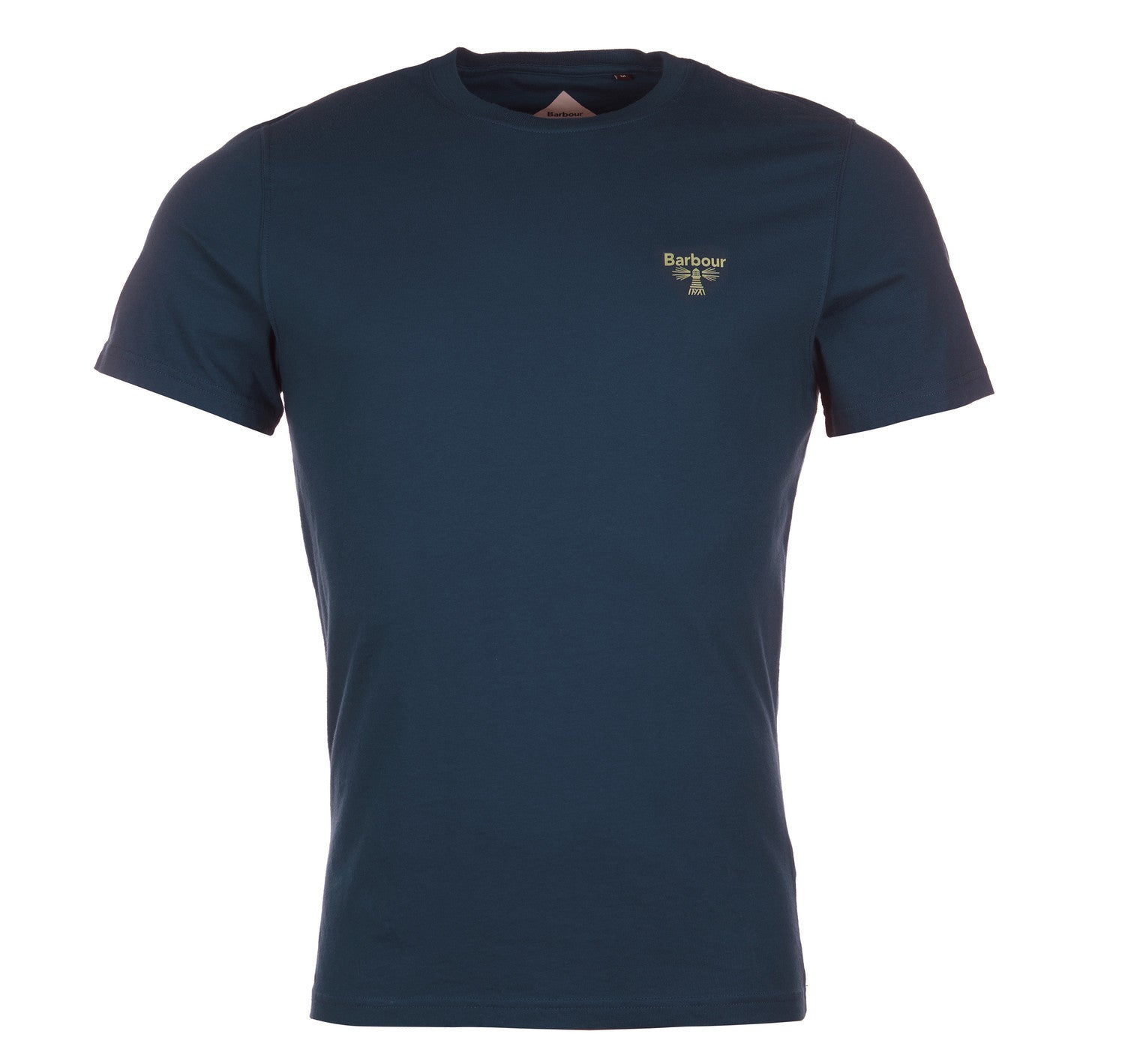 Barbour Beacon Small Logo Tee New Navy Barbour Beacon - 7 clothing Cardiff