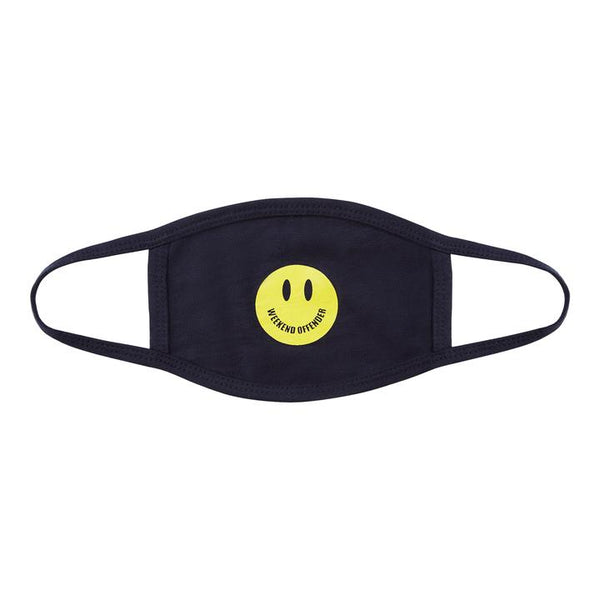 Weekend Offender SMILE FACE MASK NAVY