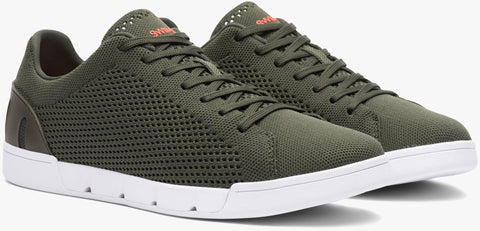 Swims Breeze Tennis Knit OLIVE/WHITE Swims - 7 clothing Cardiff