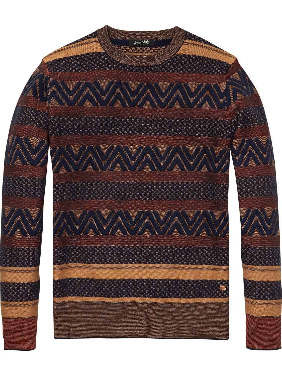 Structured Pullover Regular fit (139806) Scotch & Soda - 7clothing Cardiff