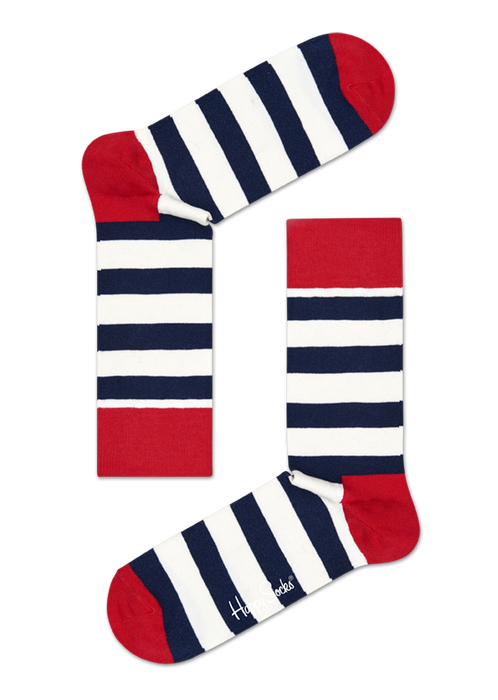 STRIPE GIFT BOX 3-PACK Happy Socks - 7clothing Cardiff