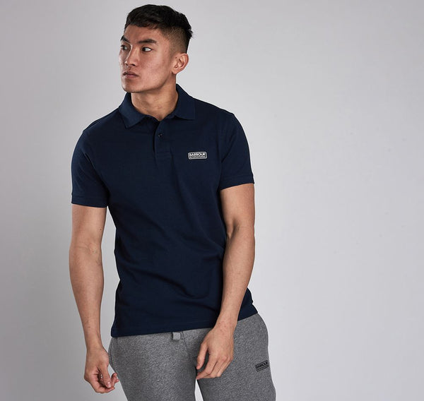 BARBOUR INTERNATIONAL ESSENTIAL PIQUE POLO SHIRT Barbour International - 7 clothing Cardiff