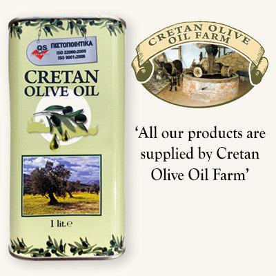 Cretan Extra Virgin Olive Oil - 1ltr can