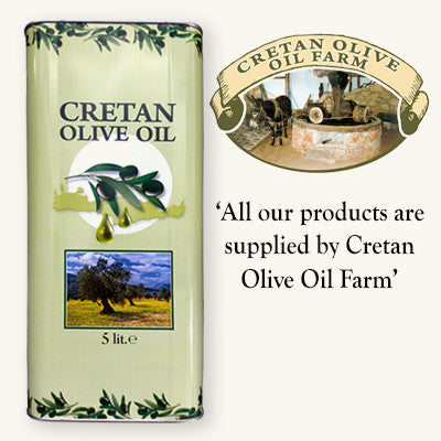Cretan Extra Virgin Olive Oil - 5 ltr can