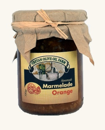 Cretan Homemade Orange Marmalade - 300gr
