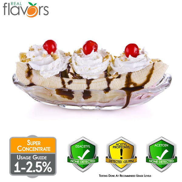 Real Flavours Banana Split
