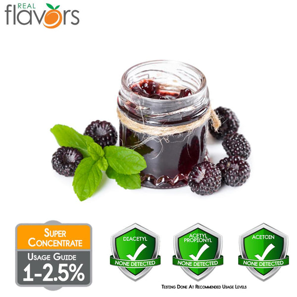 Real Flavours Black Raspberry