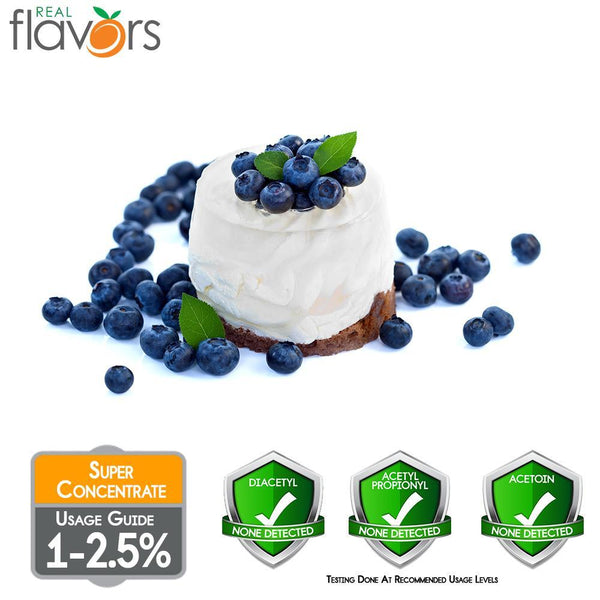 Real Flavours Blueberries & Cream