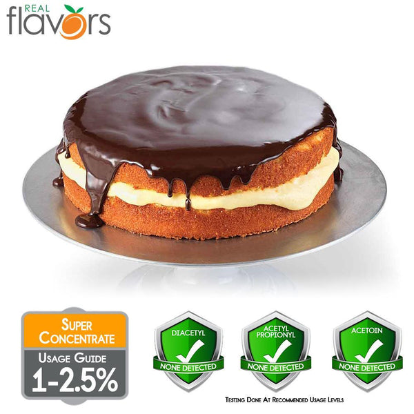 Real Flavours Boston Cream Pie