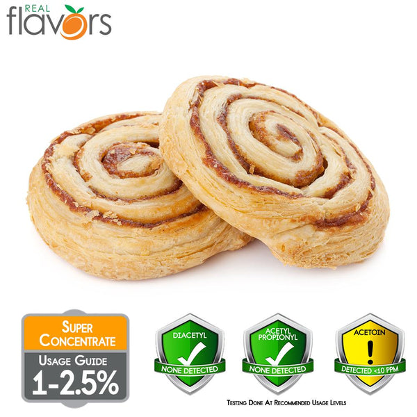 Real Flavours Cinnamon Roll