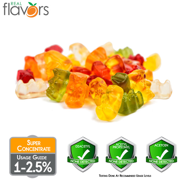 Real Flavours Gummy Candy