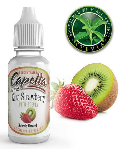 Capella Kiwi Strawberry with Stevia