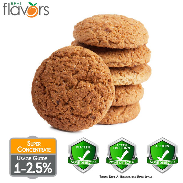 Real Flavours Oatmeal Cookie