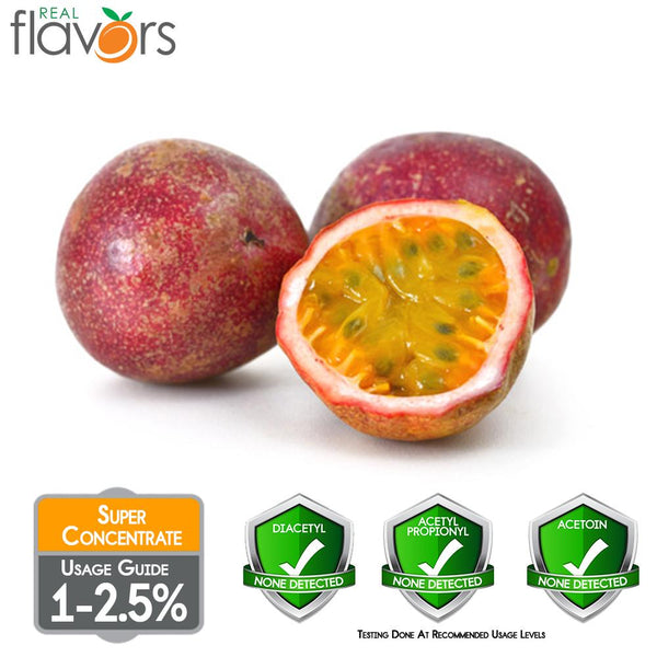 Real Flavours Passion Fruit