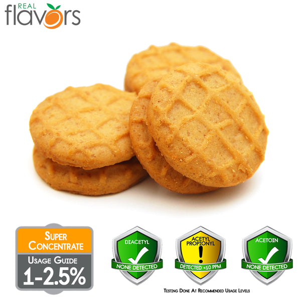 Real Flavours Peanut Butter Cookie