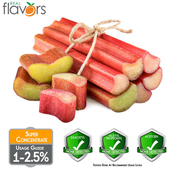 Real Flavours Rhubarb