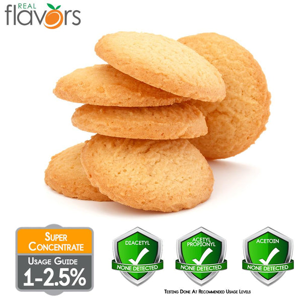 Real Flavours Shortbread Cookie