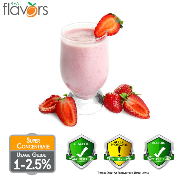 Real Flavours Strawberry Milkshake
