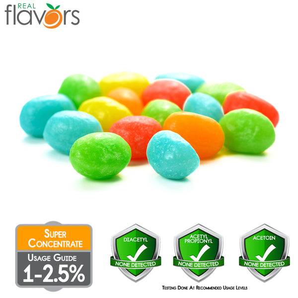Real Flavours Tropical Rainbow Candy