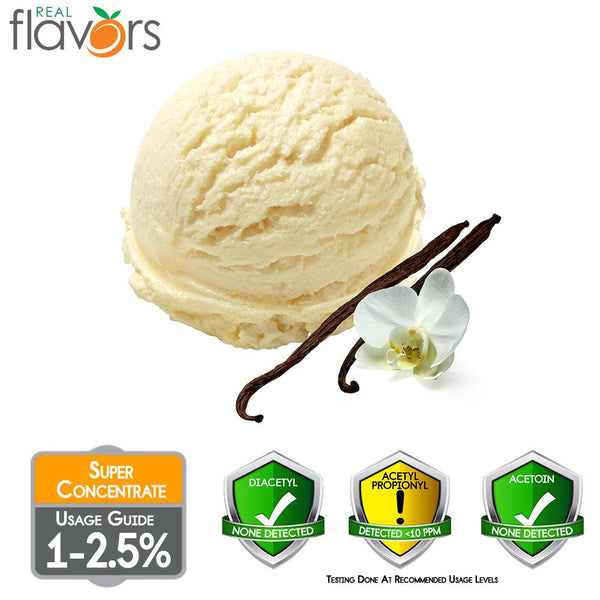 Real Flavours Vanilla Ice Cream