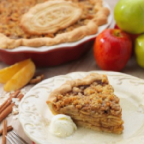 Flavor West Dutch Apple Pie