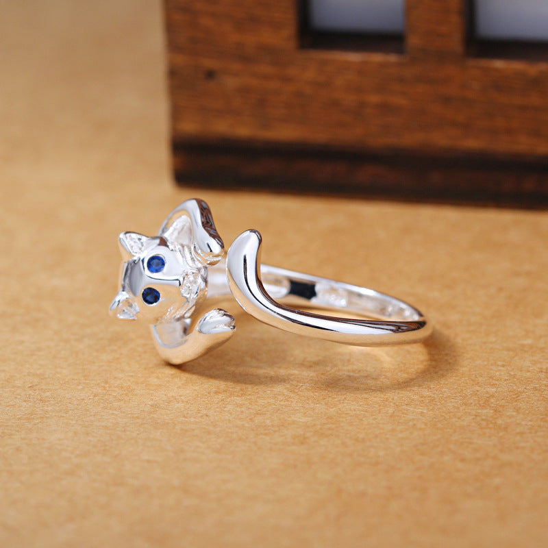 LuvCrazy Cute Cat Ring - Nielsen Anchors