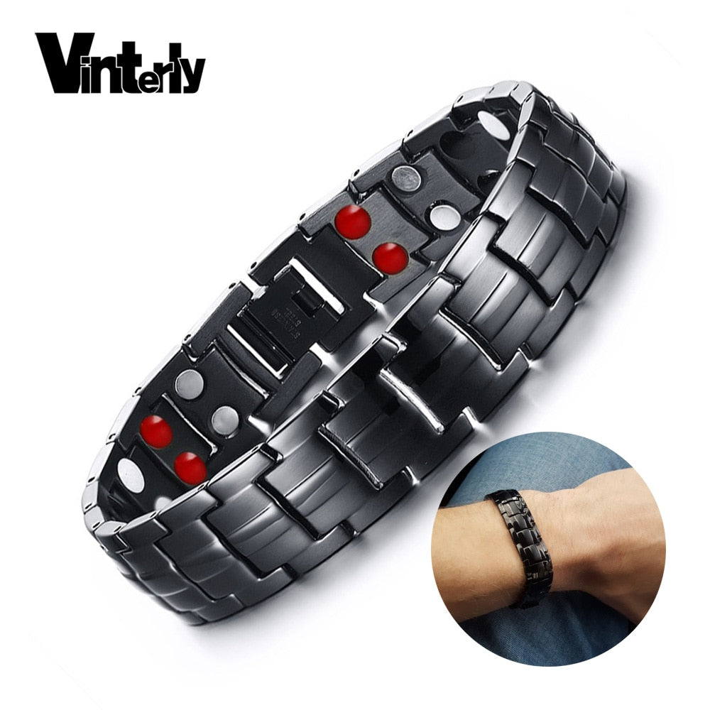 Vinterly Germanium Magnetic Bracelet - Nielsen Anchors
