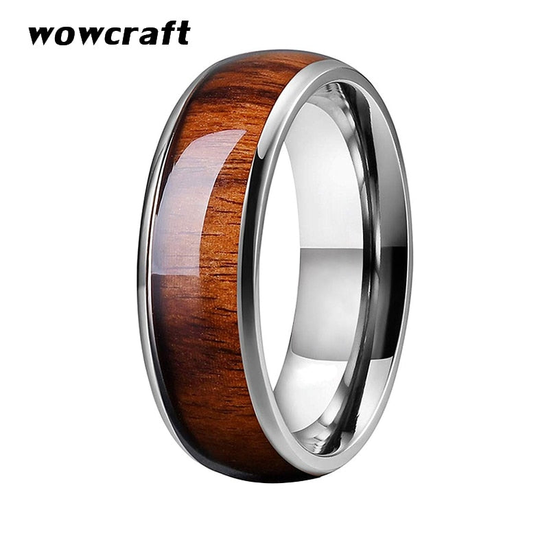 LuvCrazy Ring - Koa Natural - Nielsen Anchors