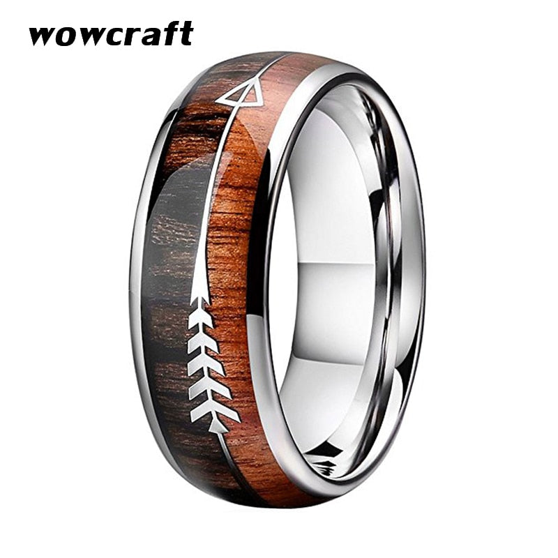 LuvCrazy Ring - Arrow Koa - Nielsen Anchors