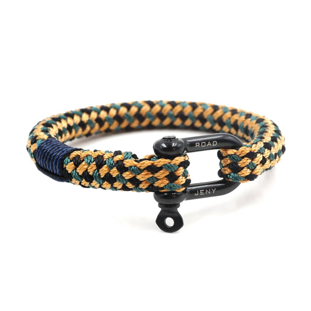Paratrooper Series - Nautical Braided Bracelet - Nielsen Anchors