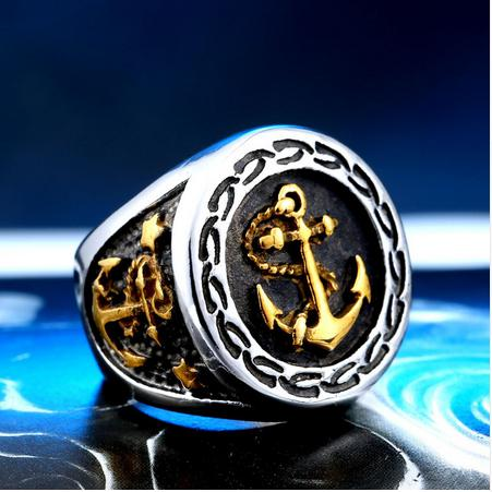 LuvCrazy Steel Anchor Ring - Nielsen Anchors