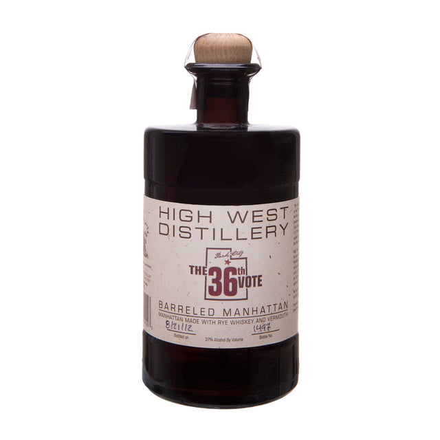 High West 36th Vote Barrel Aged Manhattan Bottled Cocktail