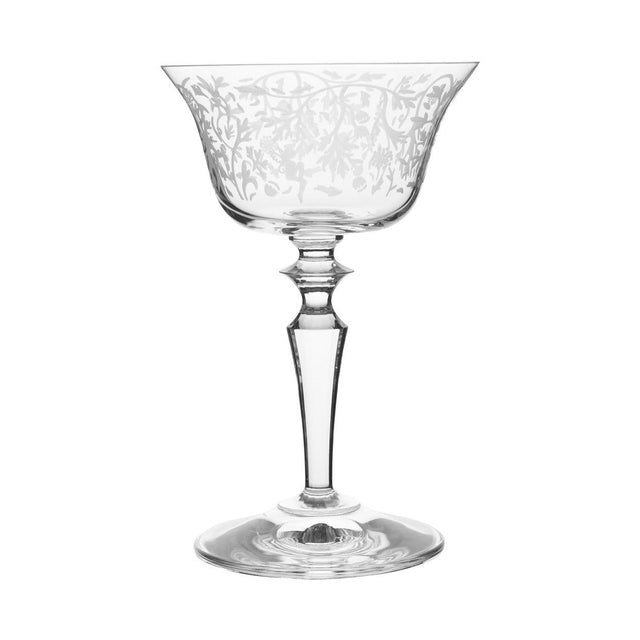 Wormwood Double Presidente Glass with Pattern (Set of 6)