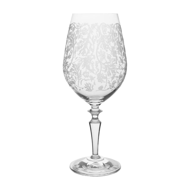 Wormwood Galante Glass with Pattern (Set of 6)