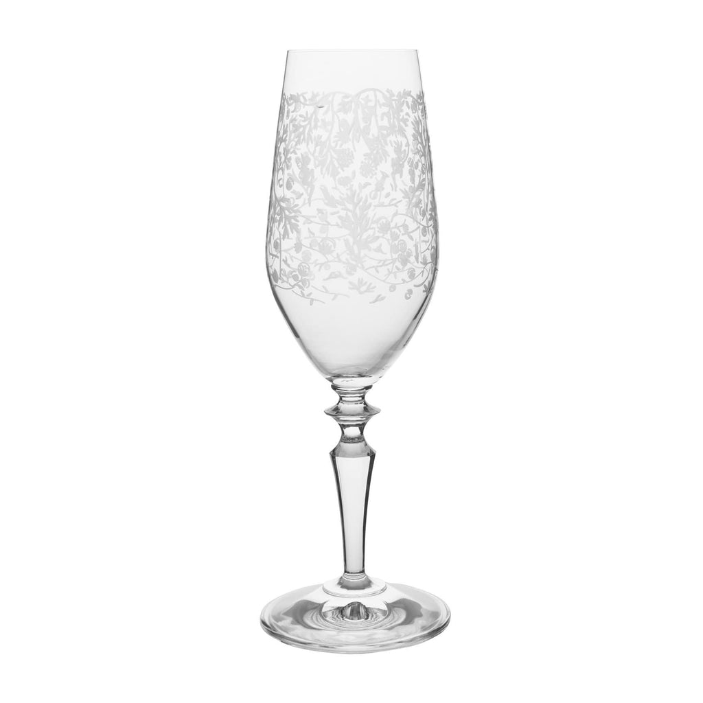 Wormwood Fizz Glass with Pattern (Set of 6)