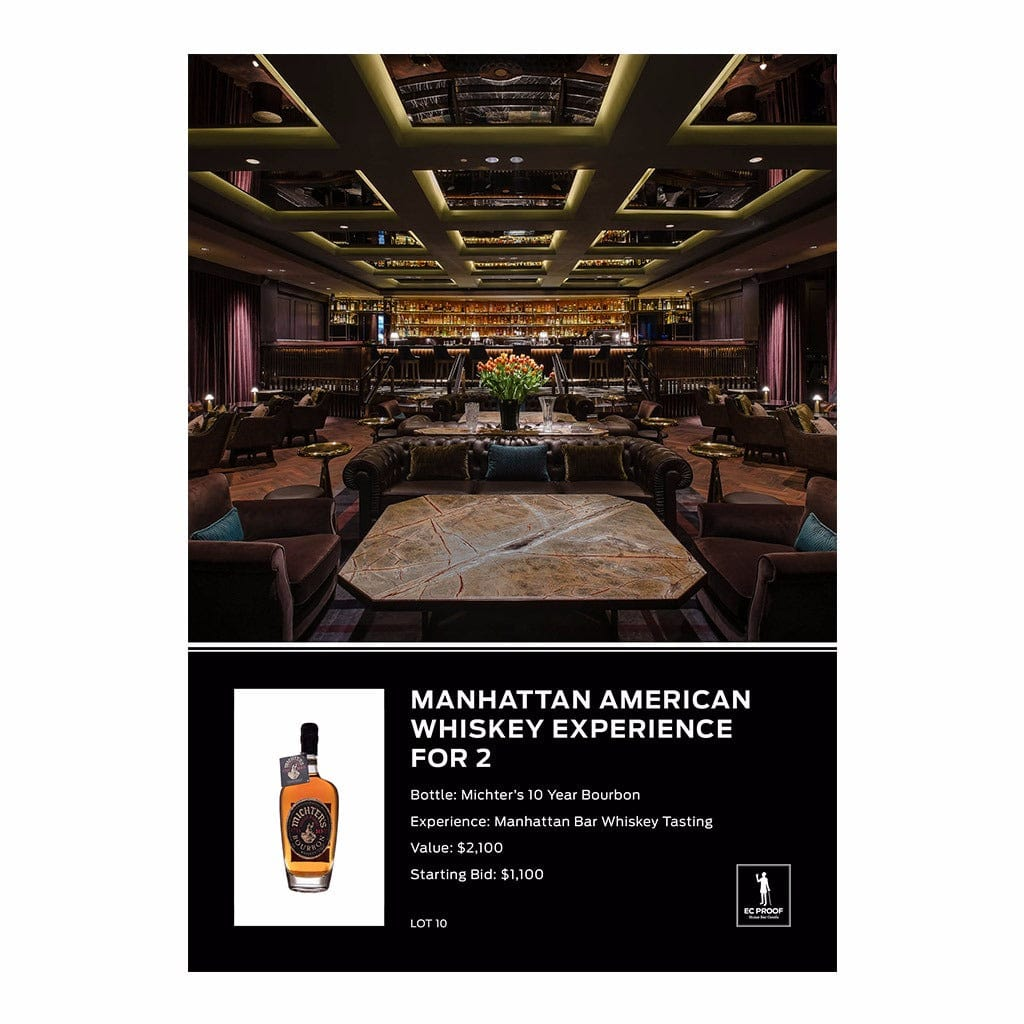 Manhattan American Whiskey Experience for 2
