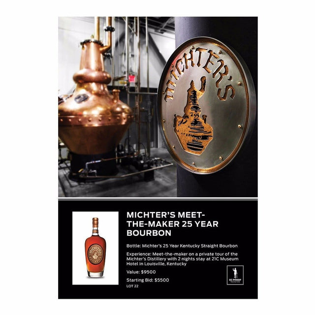 Michter's Meet-the-Maker 25 Year Bourbon