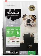 Black Hawk Dog Adult Chicken & Rice