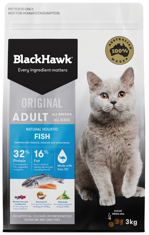 Black Hawk Feline Fish
