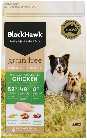 Black Hawk Dog Grain Free Chicken