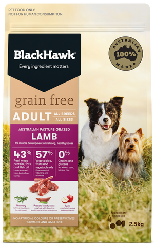 Black Hawk Dog Grain Free Lamb
