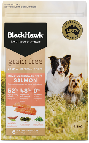 Black Hawk Dog Grain Free Salmon