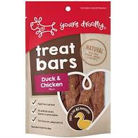 Yours Droolly - Duck & Chicken Treat Bars 100g