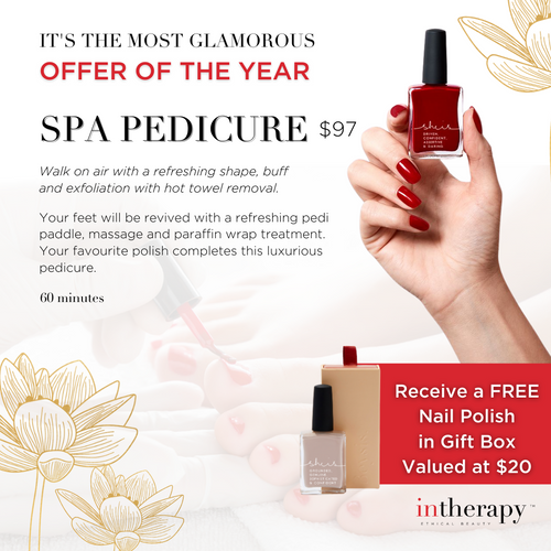 Spa Pedicure Treatment Voucher With Free Gift