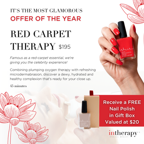 Red Carpet Therapy Treatment Voucher with Free Gift