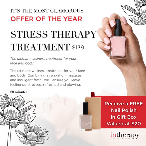 Stress Therapy Treatment Voucher With Free Gift