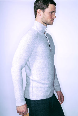 Men's Buttermilk Henley