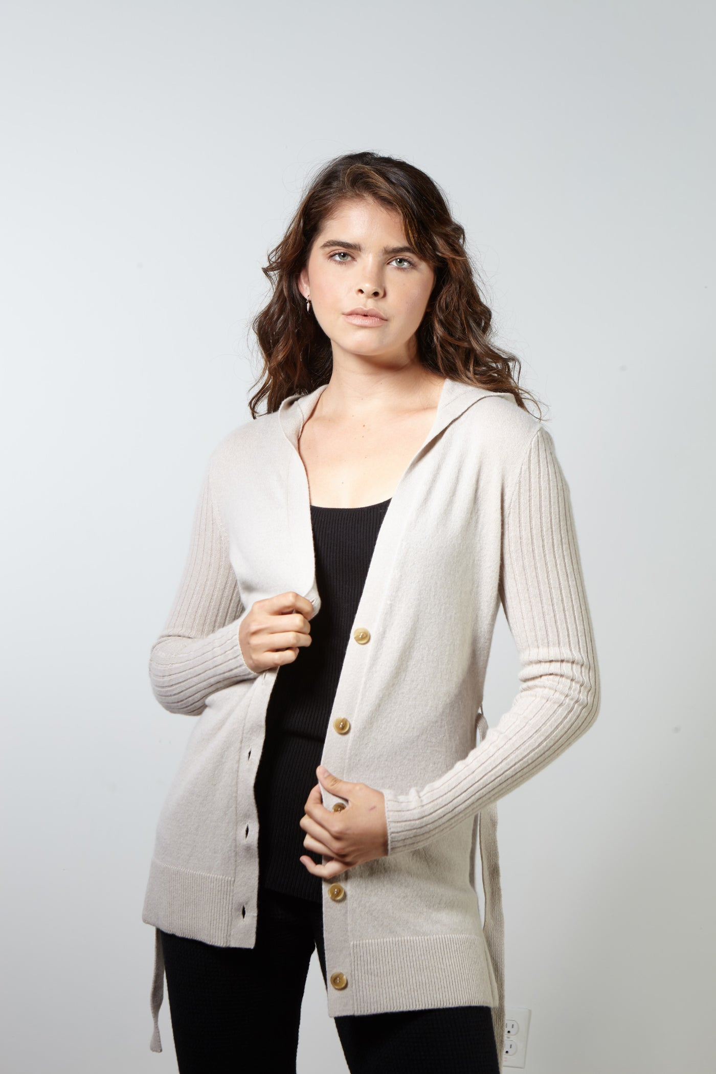 Montefeltro Hooded Cardigan