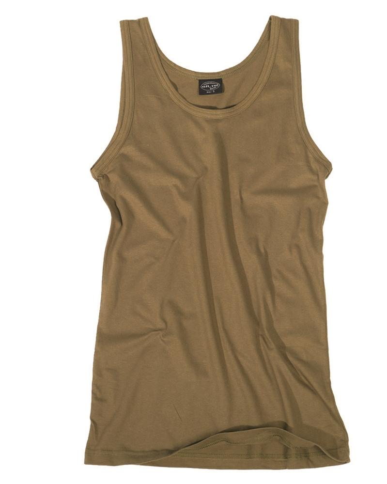 TANK TOP COTTON COYOTENORTHVIVOR